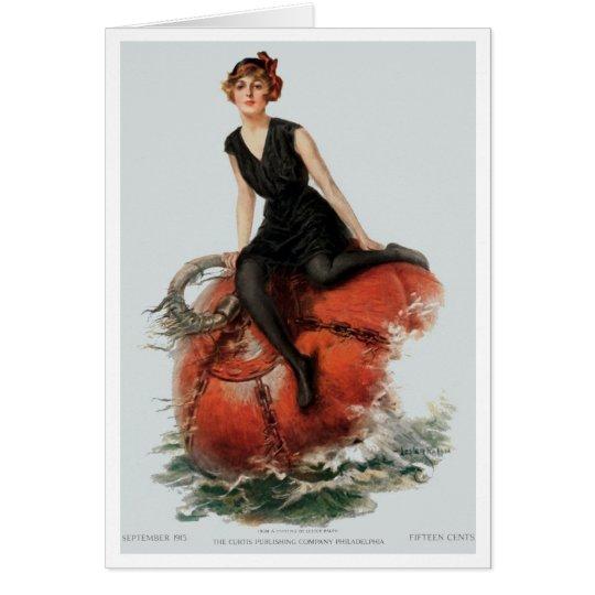 "1915!!! ""TAKE RESPITE"" LESTER RALPH ART GREETING CARD"