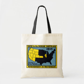 1915 Vote for Womans Suffrage Tote Bags
