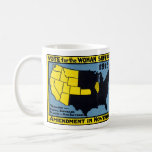 1915 Vote for Womans Suffrage Basic White Mug