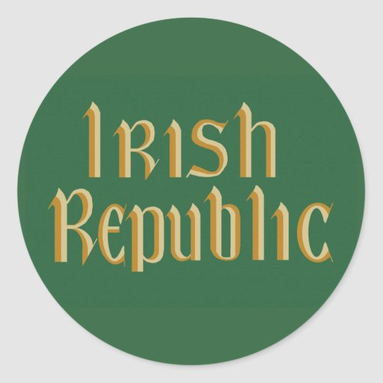 1916 Easter Rising Sticker