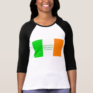 1916 Irish image for Women's-Raglan-T-Shirt T-Shirt