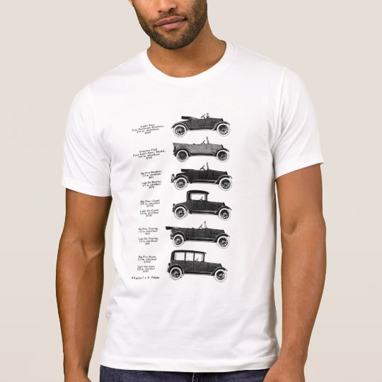 1917 Antique Cars T-Shirt