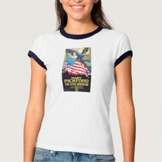 1917 Mary Pickford 'Little American' movie poster Tee Shirt