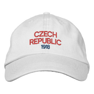 1918 Czech Republic Custom Hat Embroidered Baseball Cap