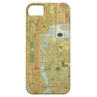 1918 New York Central Railroad Map iPhone 5 Cases