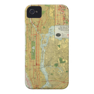1918 New York Central Railroad Map iPhone 4 Cases