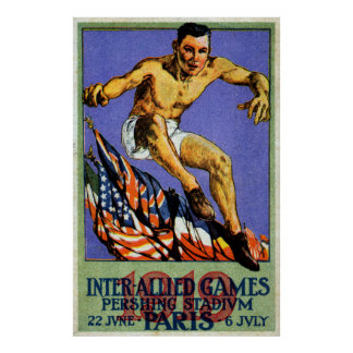1919 Allied Games Print
