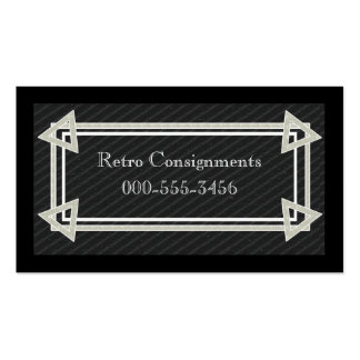 1919 bold Double-Sided standard business cards (Pack of 100)