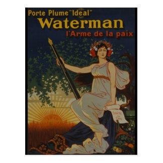1919-Porte Plume Ideal Postcard