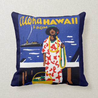 1920 Aloha from Hawaii Cushion