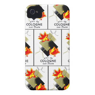 1920 French Floral perfume Case-Mate iPhone 4 Cases