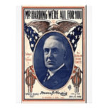 1920 Harding Personalized Flyer