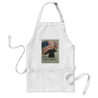 1920 Presidential Campaign Standard Apron
