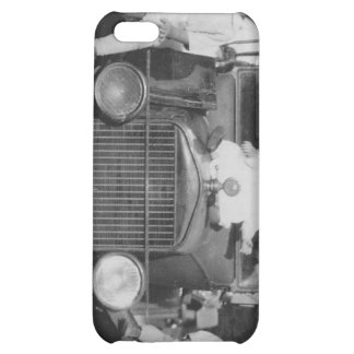 1920 s Kids on Car Case For iPhone 5C