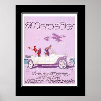 1920 s Passanger Car Vintage Poster Print