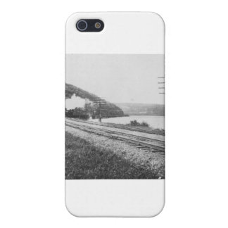1920 s Train on Track Cases For iPhone 5
