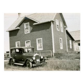 1920 s Vintage Car Postcard