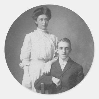 1920 s Wedding Picture Sticker