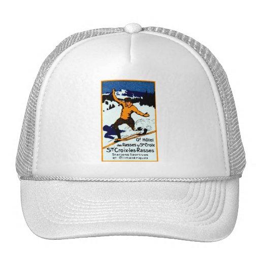 1920 St. Croix Winter Sports Poster Trucker Hats