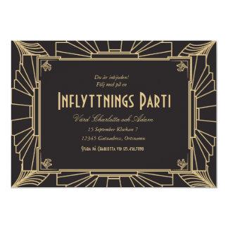 1920-teman inflyttningsfest inbjudan 13 cm x 18 cm invitation card