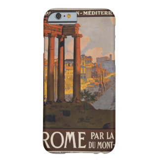 1920 Travel Poster at Temple of Saturn Barely There iPhone 6 Case