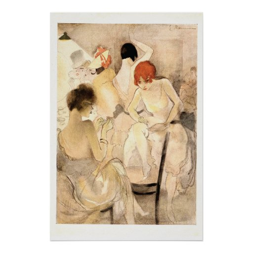 1920s Art Deco ~ Girls in the Dressing