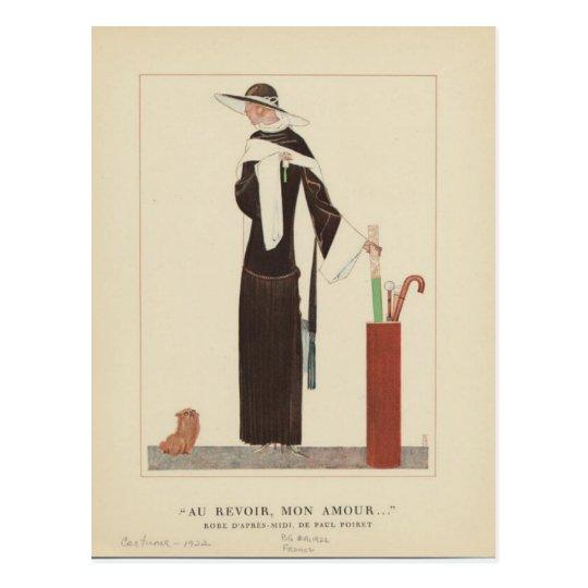 1920s Art Deco Lady ~ Au Revoir Mon