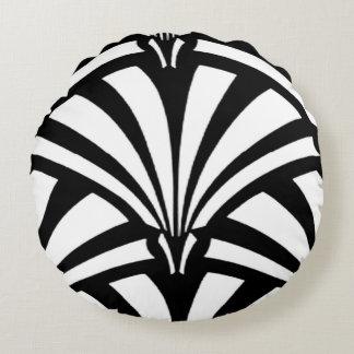 1920s Art Deco Round Cushion