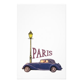 1920's Automobile - Paris Stationery