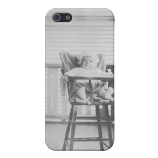 1920's Baby in Highchair Case For iPhone 5