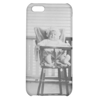 1920's Baby in Highchair iPhone 5C Covers