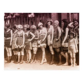 1920s Bathing Suit Contest Postcards