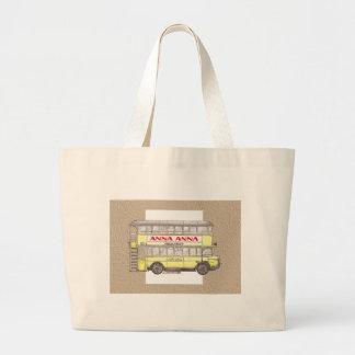 1920s Berlin Bus Large Tote Bag