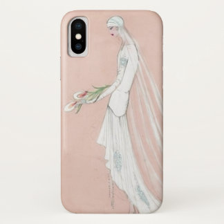 1920's Bride iPhone X Case