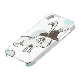 1920s Bunny Polka Dot iPhone 5 Covers