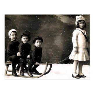 1920's Christmas Postcard