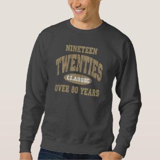 1920's Classic Birthday Sweatshirt