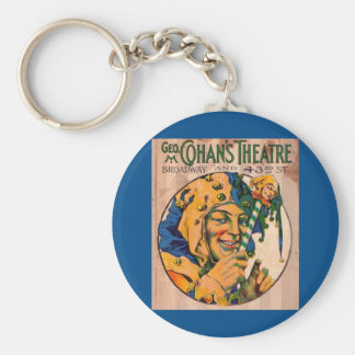 1920s Cohan's Theatre playbill cover Key Ring