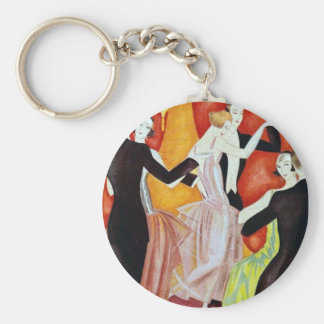 1920's Dancing Couples Key Ring