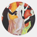 1920's Dancing Couples Sticker
