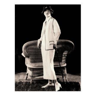 1920s Fashion Postcard