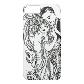 1920s Flapper Beauty iPhone 7 case