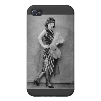 1920s Flapper Fashion Cover For iPhone 4