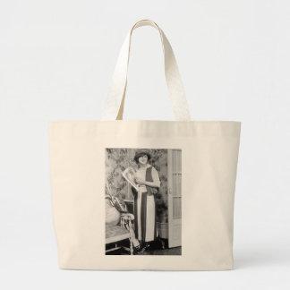 1920s Golf Fashion Canvas Bags