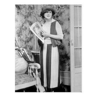 1920s Golf Fashion Post Cards