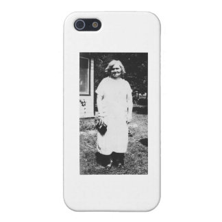 1920's Lady with purse going shopping iPhone 5 Case