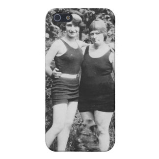 1920's Mother and Daughter in Swimsuits iPhone 5 Cover