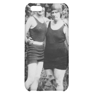 1920's Mother and Daughter in Swimsuits iPhone 5C Cases