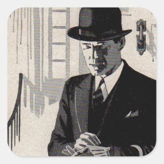 1920s Mr. Natty the sharp dressed man Square Sticker
