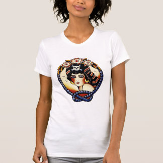 1920s Pirate Girl Tee Shirts